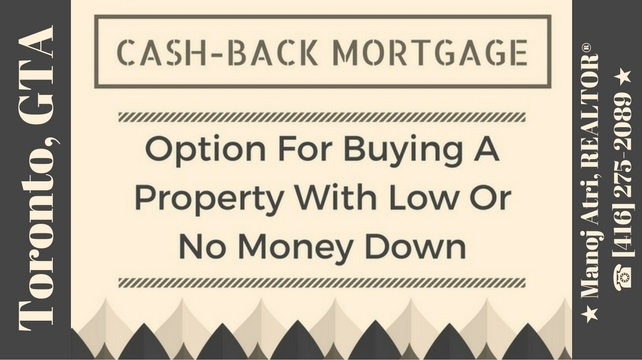 Cash Back Mortgages