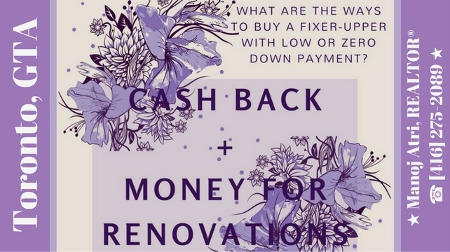 Cash Back Mortgage Plus Money For Renovation