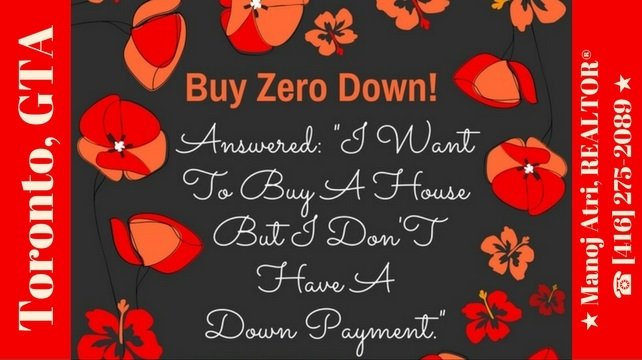 How To Buy Zero Down!