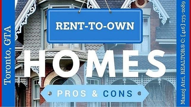 Rent To Own Homes Gta